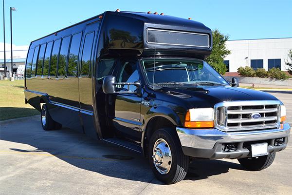 18 passenger party bus rentals