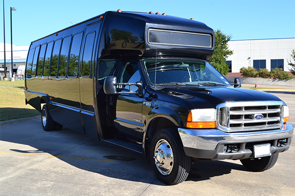 18 passenger party bus Kerrville