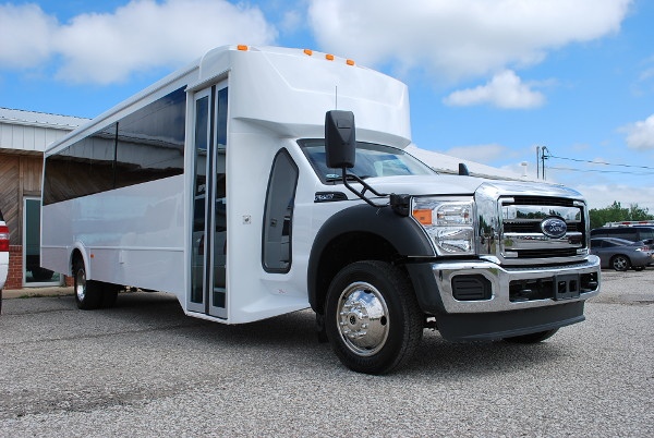 22 Passenger party bus rental Lucy