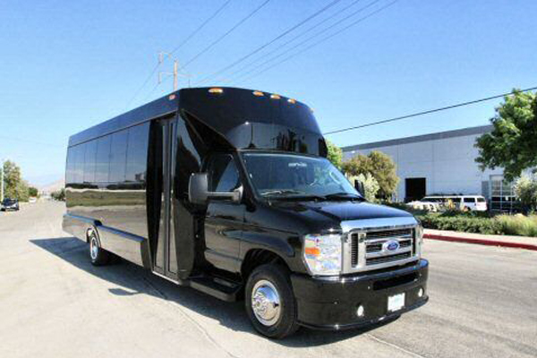 20 Passenger Shuttle Bus Rental Lucy