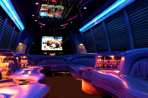 30 Person Shuttle Bus Rental Hughes