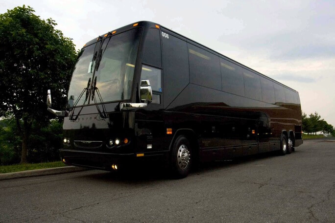 40 Passenger Charter Bus Rental Hughes