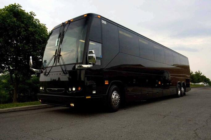 40 Passenger Charter Bus Rental Woodstock